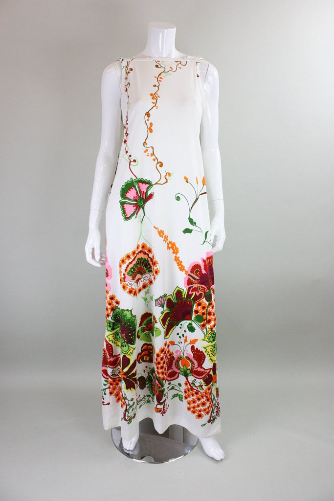 1970's Maxi Dress Don Luis de Espana Vintage - regenerationvintageclothing