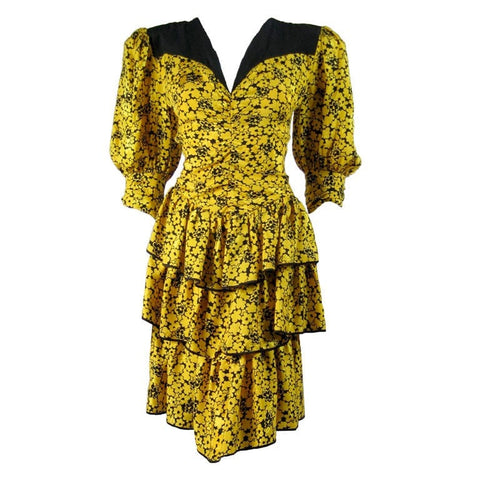 Ted Lapidus Cocktail Dress Vintage - regenerationvintageclothing