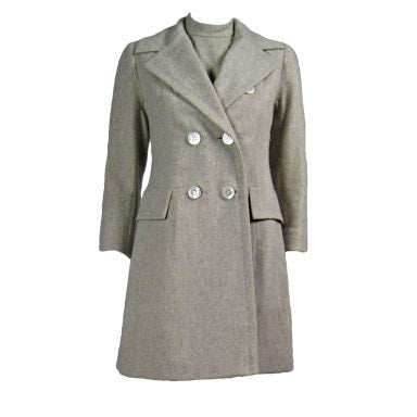 Vintage Clothing: 1960's Christian Dior-New York Dress and Coat Ensemble