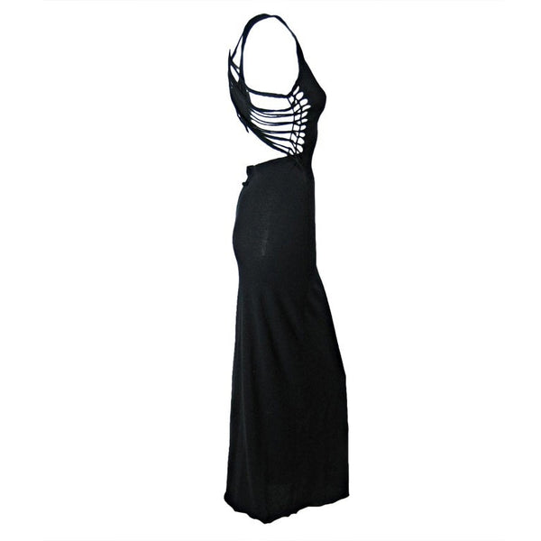 Jean-Paul Gaultier Gown 1990's Strappy Vintage - regenerationvintageclothing