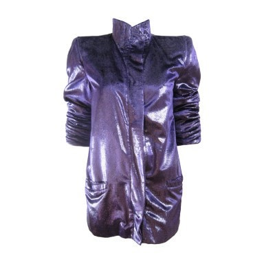 Vintage Clothing: 1980's Krizia Purple Jacket