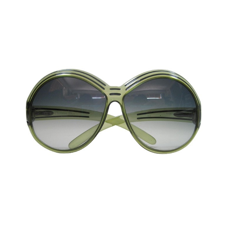 Vintage 1970's Christian Dior Oversized Glasses