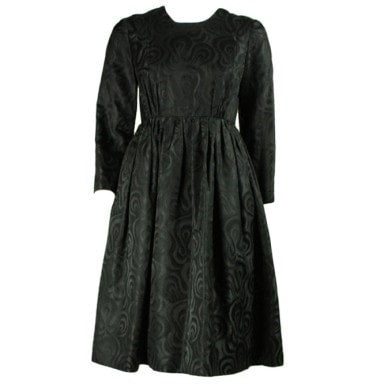 Vintage Dresses - 1960's Gustave Tassell Black Cocktail Dress