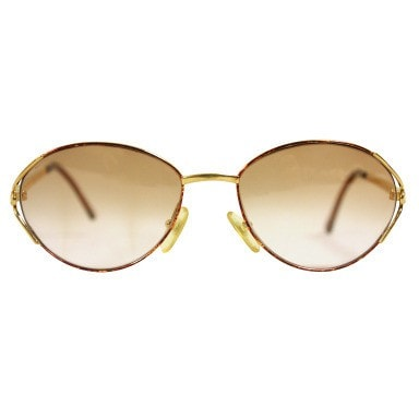 Vintage Clothing: 1980's Christian Dior Sunglasses with Logo Arms