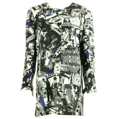 Vintage Clothing: 1990's Ungaro Jacket with Pop Art Print