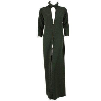 Vintage Clothing: 1990's Jean-Paul Gaultier Convertible Zippered Jumpsuit