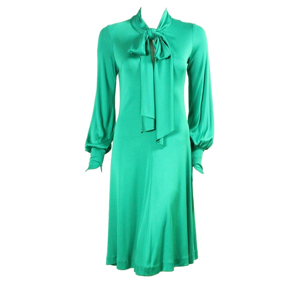 Vintage Clothing: 1970's Giorgio Sant Angelo Jersey Dress