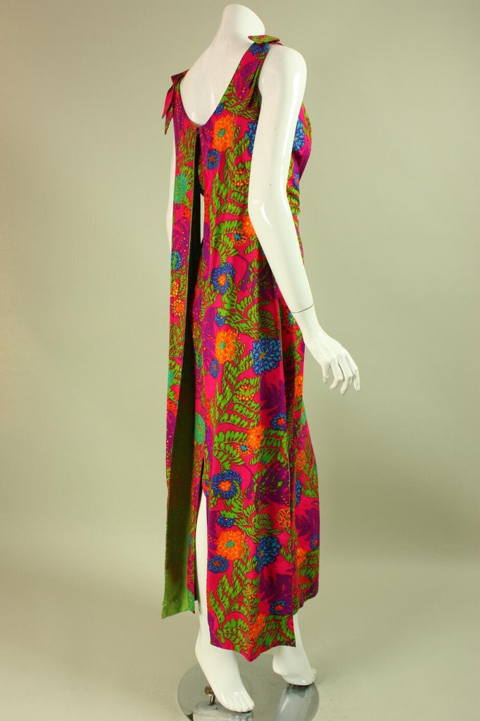 1970's Dress Floral Hawaiian Vintage - regenerationvintageclothing