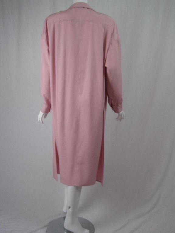 Gianfranco Ferre Dress 1980's Silk Sheath Vintage - regenerationvintageclothing