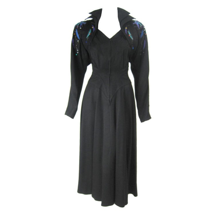 Vintage 1980's Saks Fifth Avenue Dress