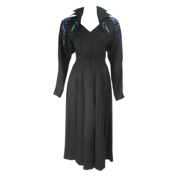 1980's Dress Saks Fifth Avenue Vintage - regenerationvintageclothing