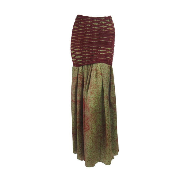 Jean-Paul Gaultier Skirt 1990's Double Layered Vintage - regenerationvintageclothing