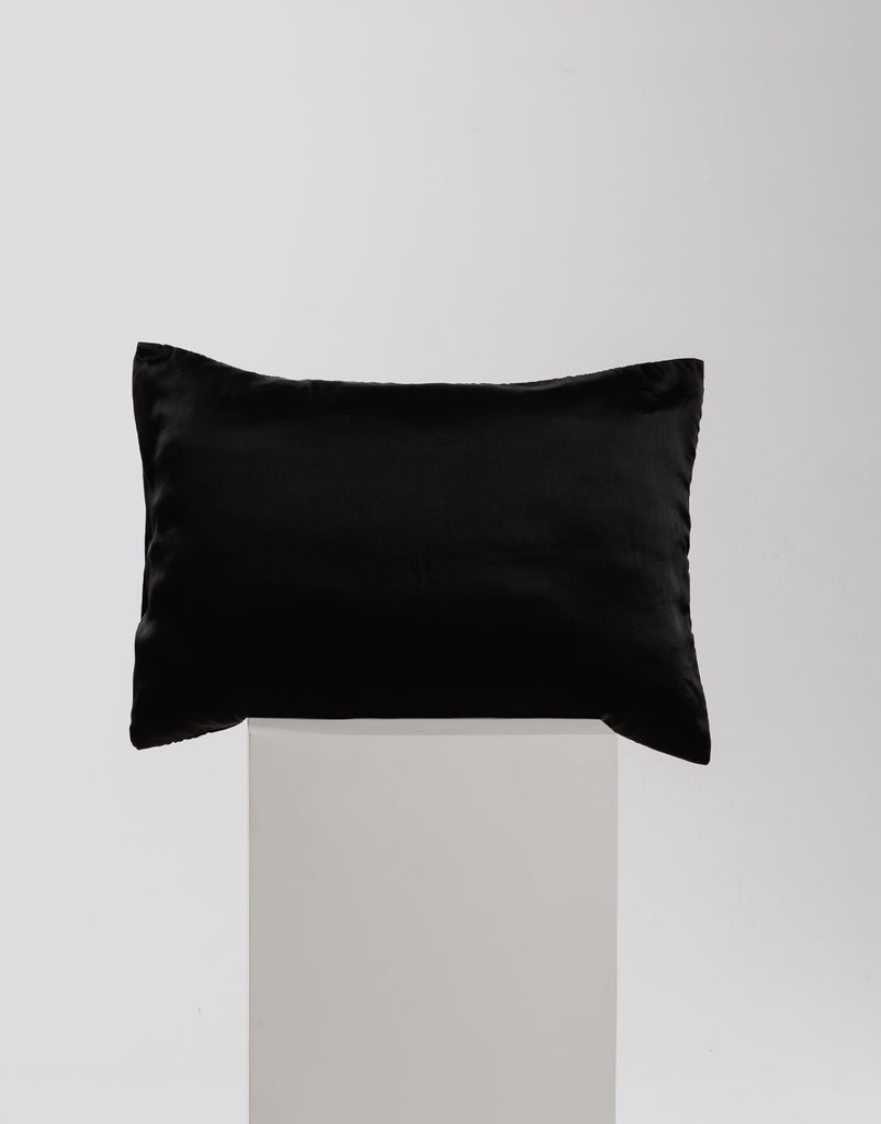 Silk Pillow Slip - Black