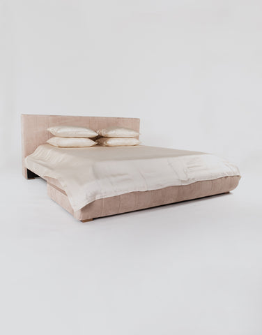 Silk Pillow Slip - Almond