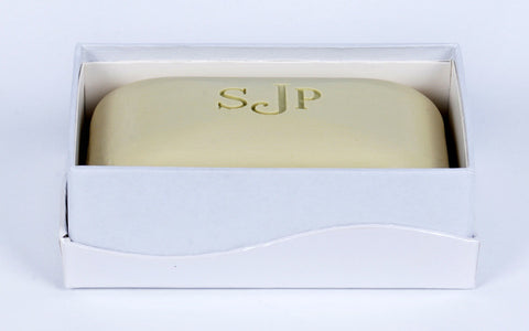 Personalized Scented Soap - Massage Bar - Monogrammed