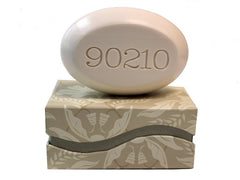 Personalized Scented Soap Bar Engraved with 90210 Scented Soap Bar - Single Bar Box