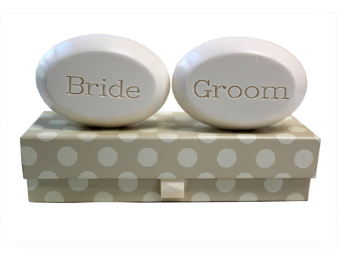 Personalized Soap Sentiments - Bride & Groom