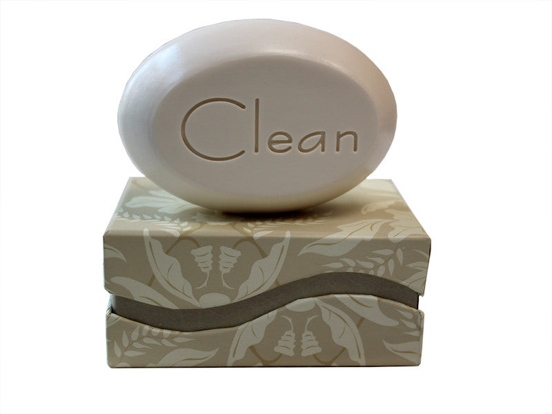Personalized Scented Soap Bar Engraved with Clean Scented Soap Bar - Single Bar Box