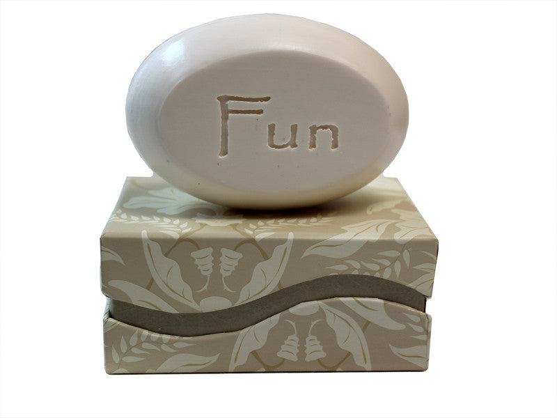 Personalized Scented Soap Bar Engraved with Fun Scented Soap Bar - Single Bar Box