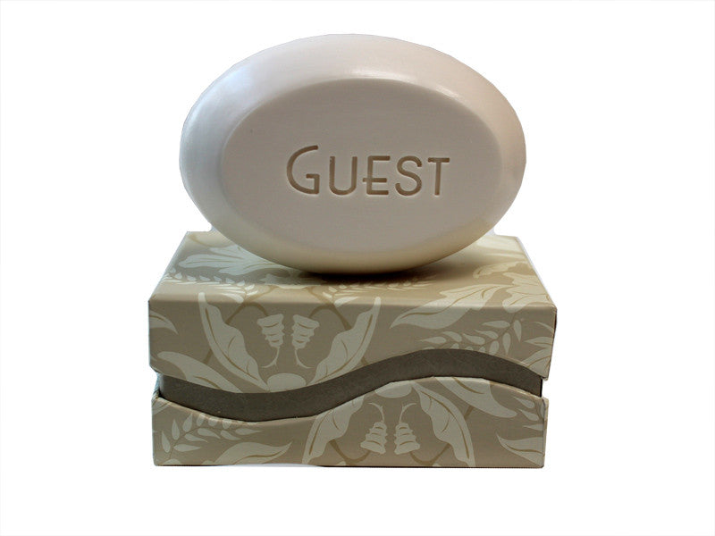 Personalized Scented Soap Bar Engraved with Guest Scented Soap Bar - Single Bar Box