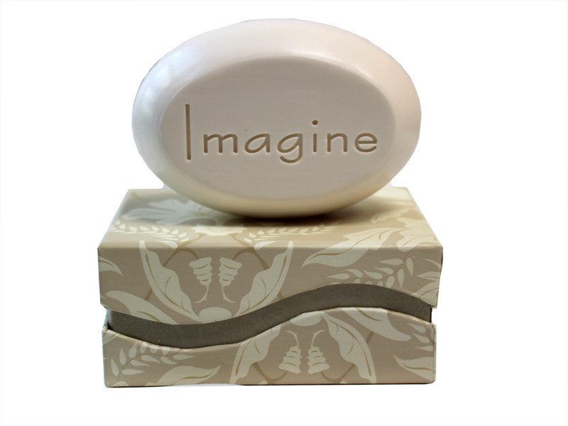Personalized Scented Soap Bar Engraved with Imagine Scented Soap Bar - Single Bar Box
