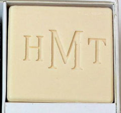 Personalized Scented Square Guest Soap & Hand Towel Courtesy Gift Set Monogrammed