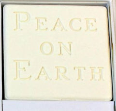 Peace on Earth Personalized Scented Guest Soap & Hand Towel Holiday Gift Set