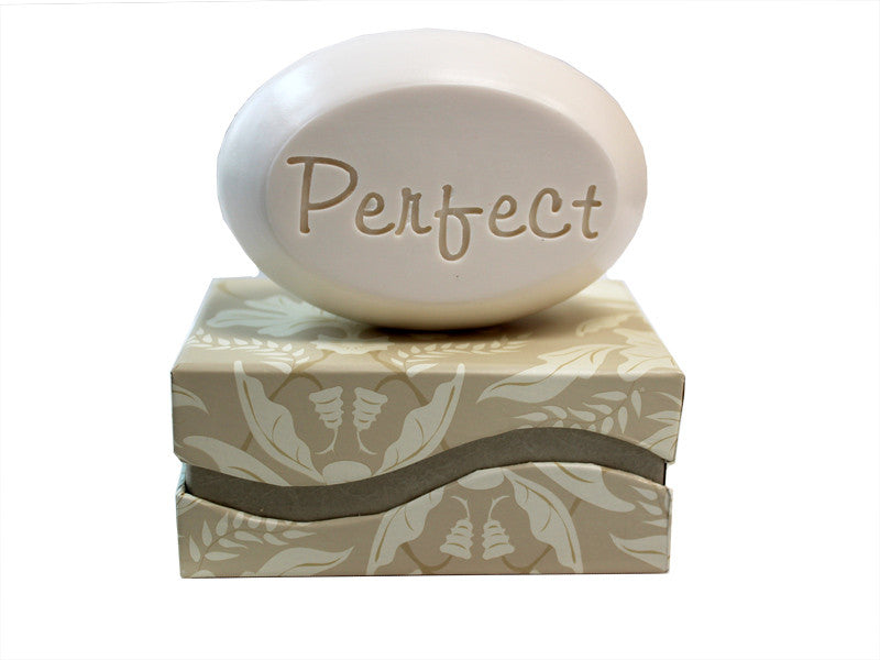 Personalized Scented Soap Bar Engraved with Perfect Scented Soap Bar - Single Bar Box