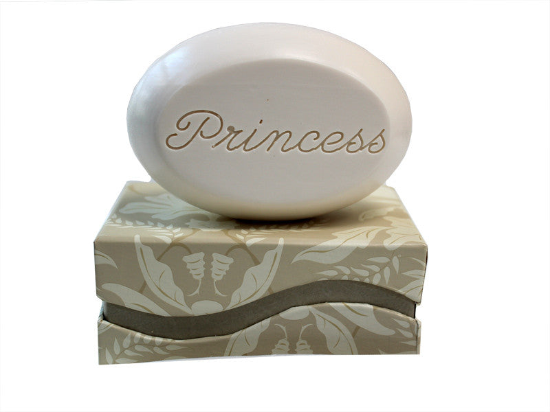 Personalized Scented Soap Bar Engraved with Princess Scented Soap Bar - Single Bar Box