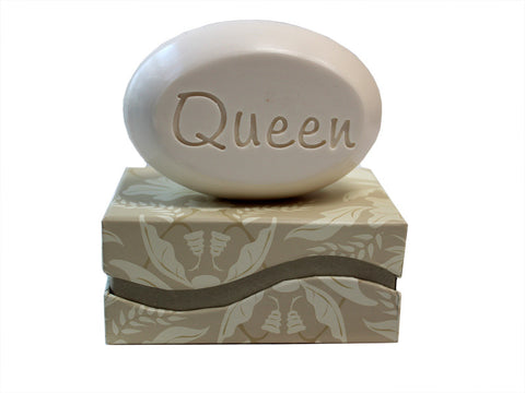 Personalized Soap Sentiments - Queen