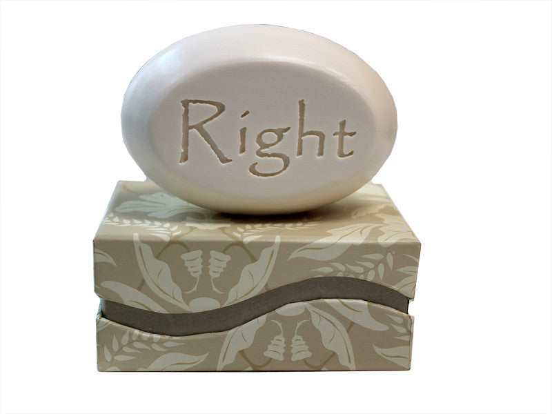 Personalized Scented Soap Bar Engraved with Right Scented Soap Bar - Single Bar Box