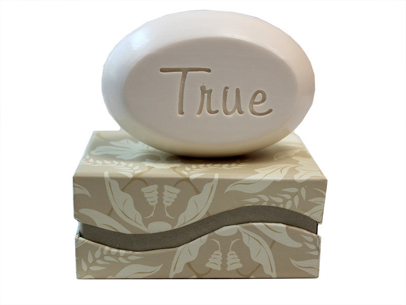 Personalized Scented Soap Bar Engraved with True Scented Soap Bar - Single Bar Box