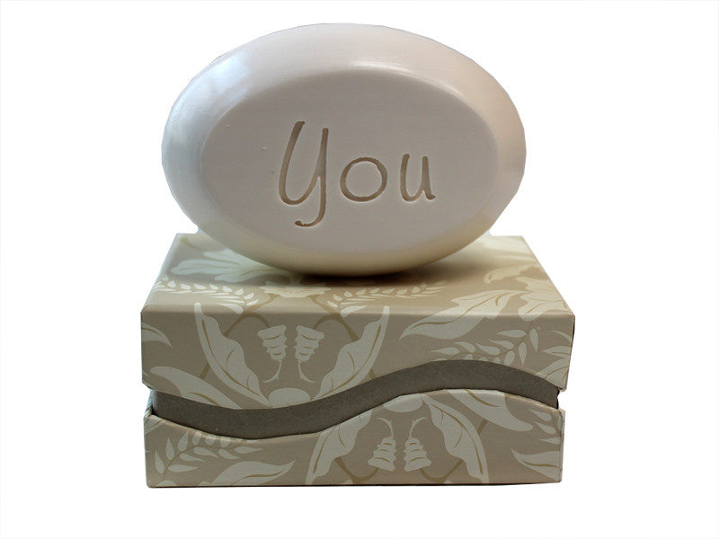 Personalized Scented Soap Bar Engraved with You Scented Soap Bar - Single Bar Box