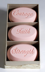 Breast Cancer Awareness - Signature Scented Bar Soap Engraved with