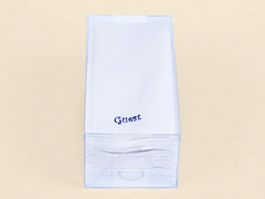 Personalized 72 Linen Like (paper) Disposable Guest Hand Towels. Personalized with your name or text.