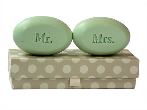 Personalized Soap Sentiments - Mr. & Mrs