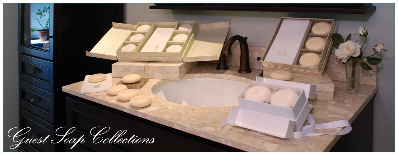 Guest Soap Sets Personalized & Monogrammed Scented Guest Soaps & Personalized& Monogrammed  Linen Like Disposable Guest Hand Towels
