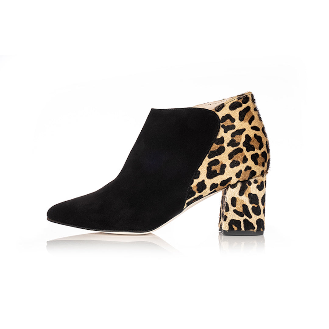 Stylish Wide Fit Leopard Print Shoes & Boots