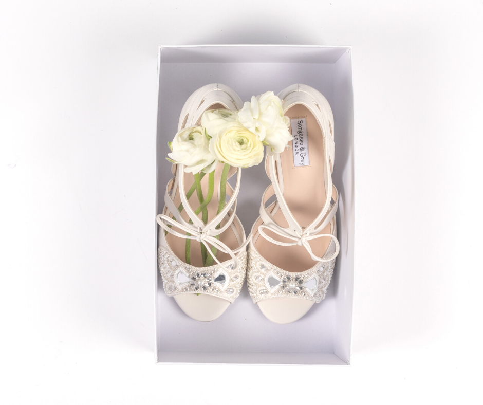 Wide fit wedding shoes for bunions