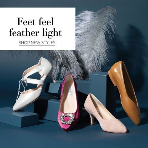 Sargasso & Grey Classic Wide fit Shoes - Feet Feel Feather Light
