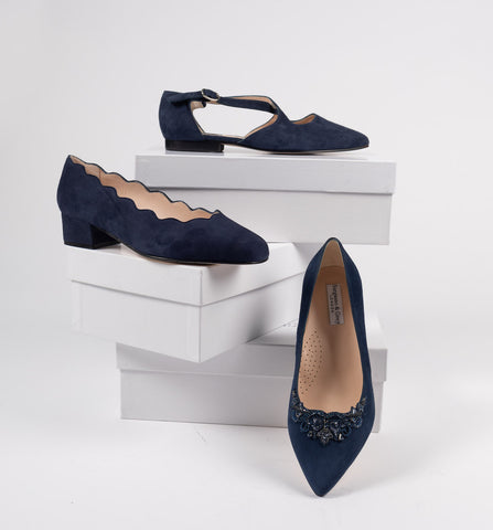 stylish wide fitting flat shoes