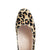 Grace Wide Fit Block Heel Pumps – Leopard Print With Scallop Edge