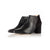 Hero Wide Fit Boots Black Suede and Leather