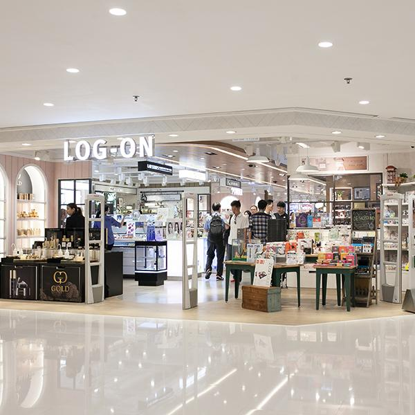 The brand new LOG-ON Harbour City Store
