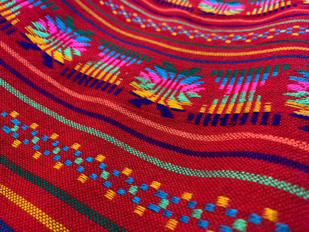 Traditional Mexican fabric by the yard (2) - Villa's Fabric Shop