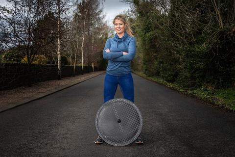 Irish Time Trialling Power House, Eileen Burns, becomes Ambassador for Scribe Cycling