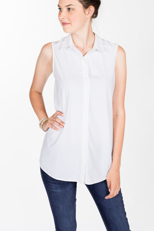 74fe94f913e06 Lysse.June Button Down-White