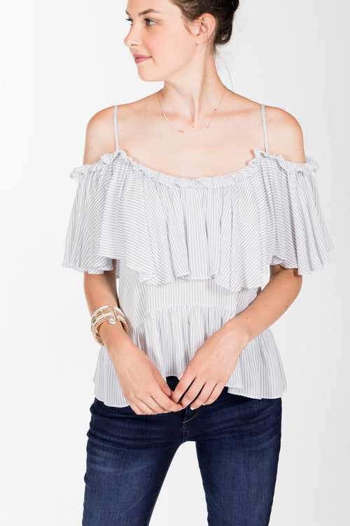 Tart.Violetta Top.Stripe