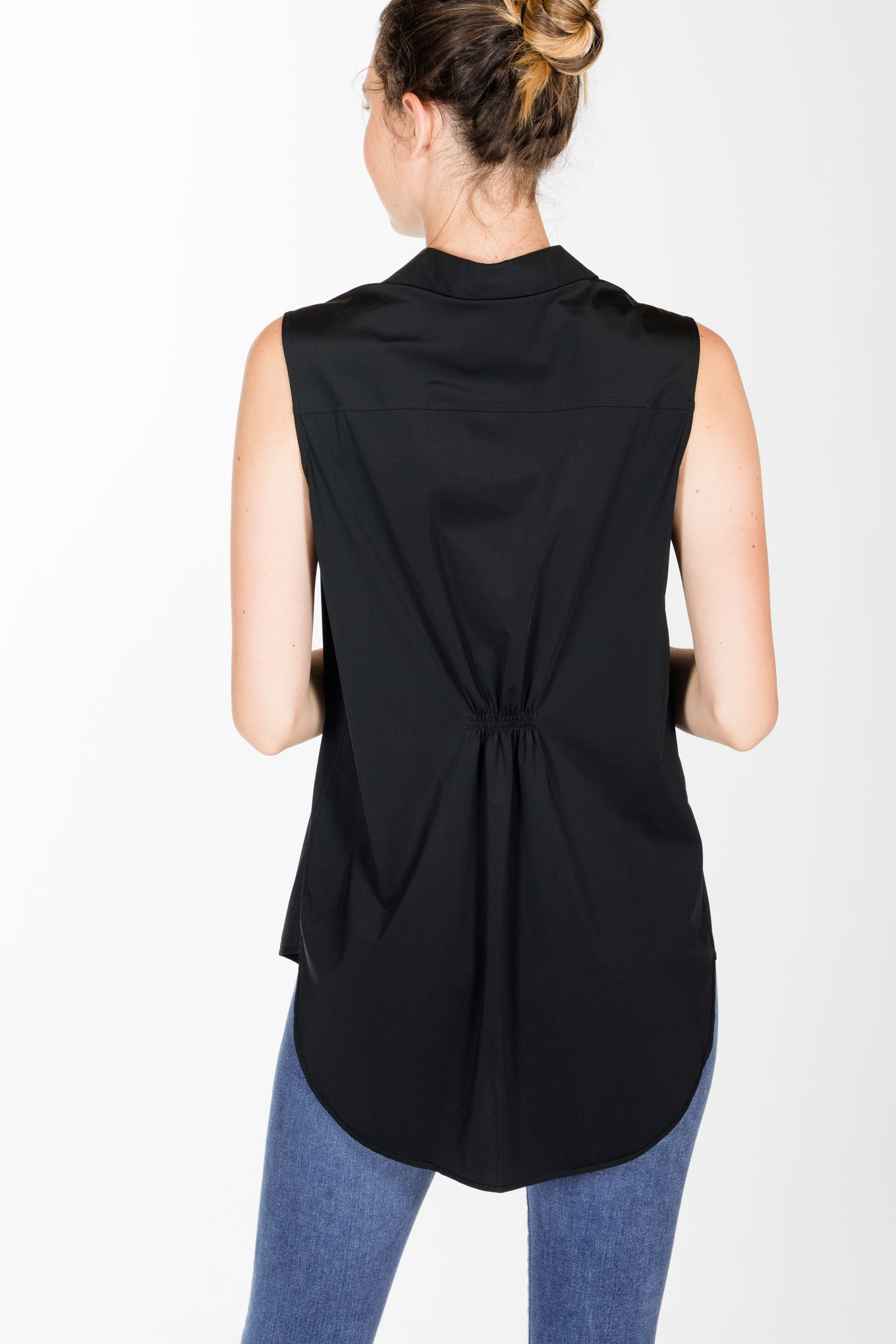 Lysse.June Button Down-Black