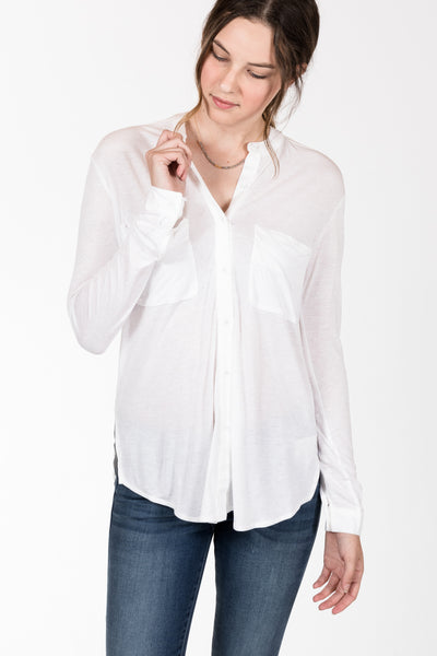 Gentle Fawn.Arlow Top.White